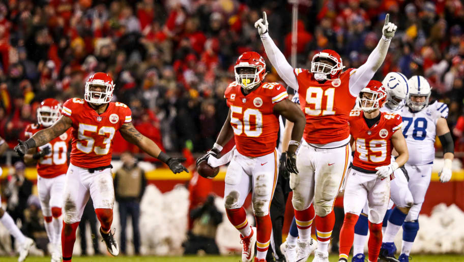 Justin Houston,Derrick Nnadi,Anthony Hitchens