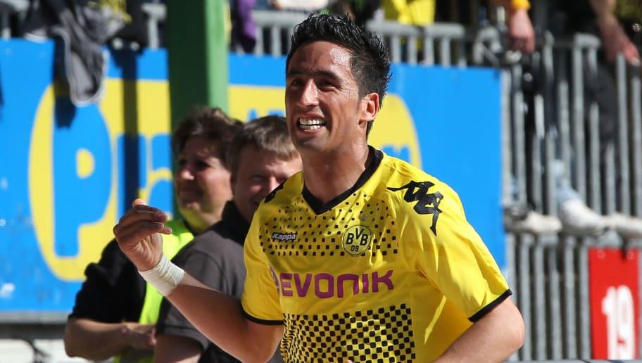 Dortmund's Argentinian striker Lucas Bar