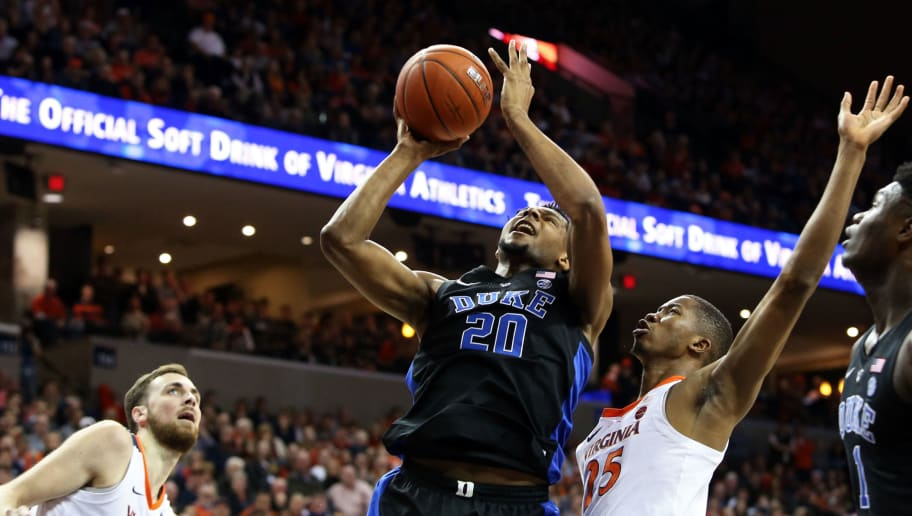 2 Duke Shoots Lights Out In Convincing Road Win Over No 3 Virginia
