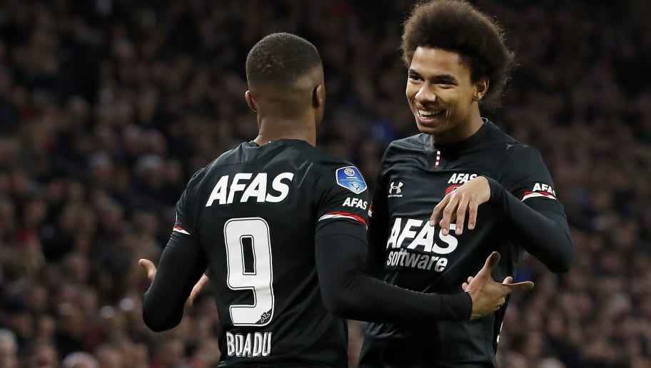 "Dutch Eredivisie""Ajax Amsterdam v AZ Alkmaar"""