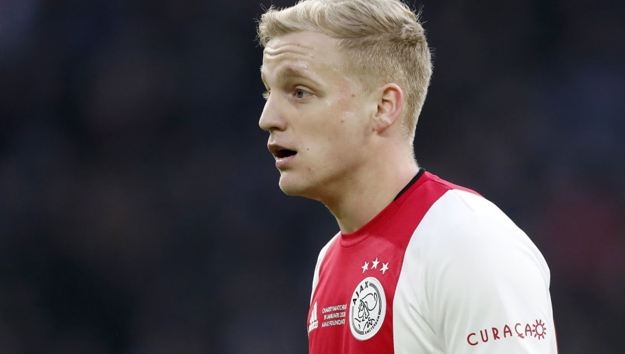 "Dutch Eredivisie""Ajax Amsterdam v Sparta Rotterdam"""