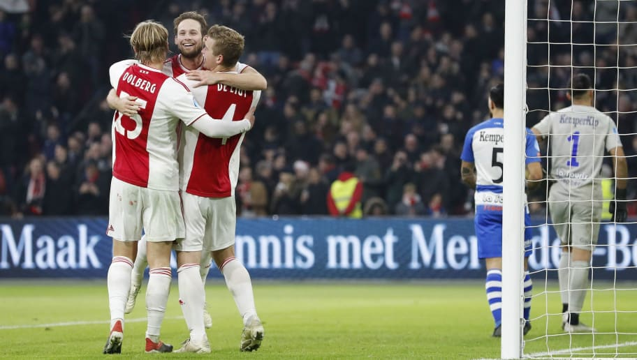 Dutch Eredivisie'Ajax v De Graafschap'