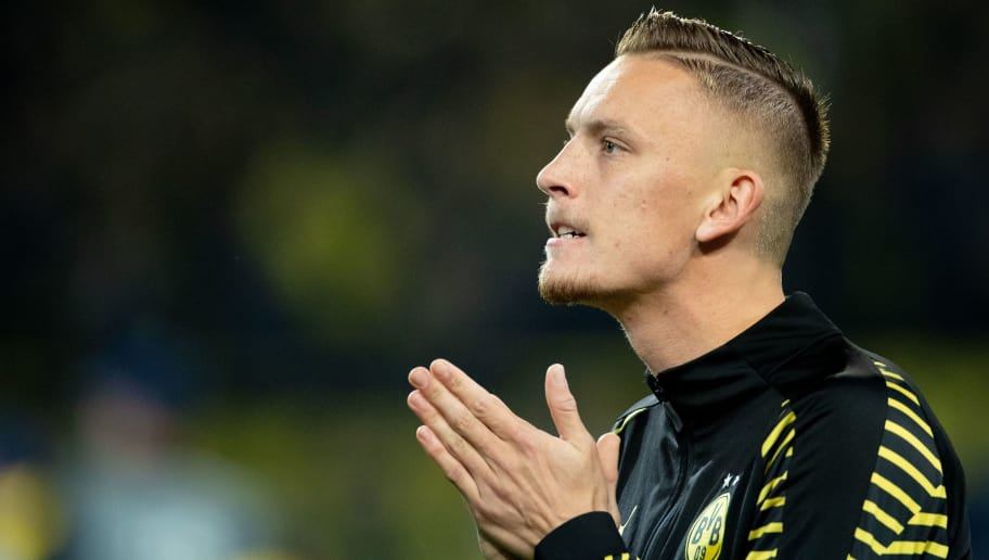 Marius Wolf of Borussia Dortmund during the UEFA Champions League group A match between Borussia Dortmund and AS Monaco at the Signal Iduna Park stadium on October 03, 2018 in Dortmund, Germany(Photo by VI Images via Getty Images)