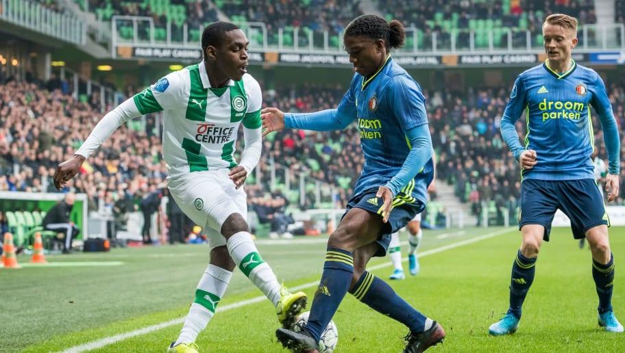 """Dutch Eredivisie""""Fc Groningen v Feyenoord Rotterdam"""""""
