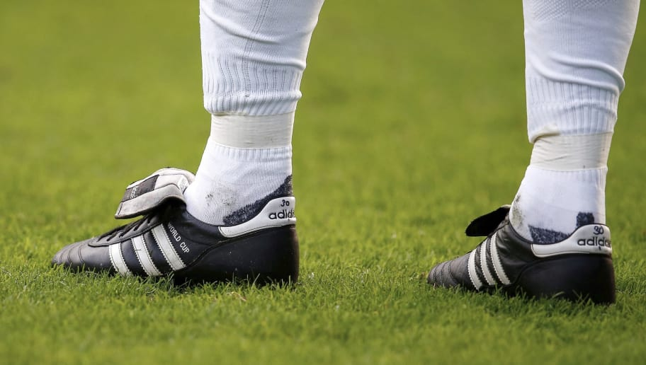 Adidas Copa Mundial shoes during the Dutch Eredivisie match between FC Utrecht and PSV at the Galgenwaard Stadium on october 26, 2014 in Utrecht, The Netherlands(Photo by VI Images via Getty Images)