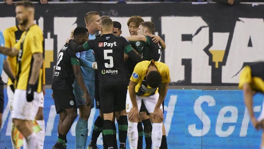 """Dutch Eredivisie""""Vitesse Arnhem v FC Groningen"""""""