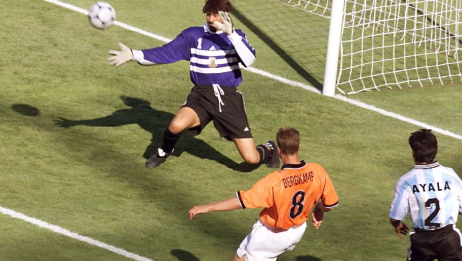 Netherlands 2-1 Argentina: The Day Dennis Bergkamp's Beauty Stopped Time Itself