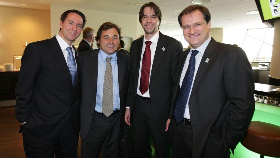 Diederik Dewaele,Raul Sanllehi,Michael Gerlinger,Michele Centenaro