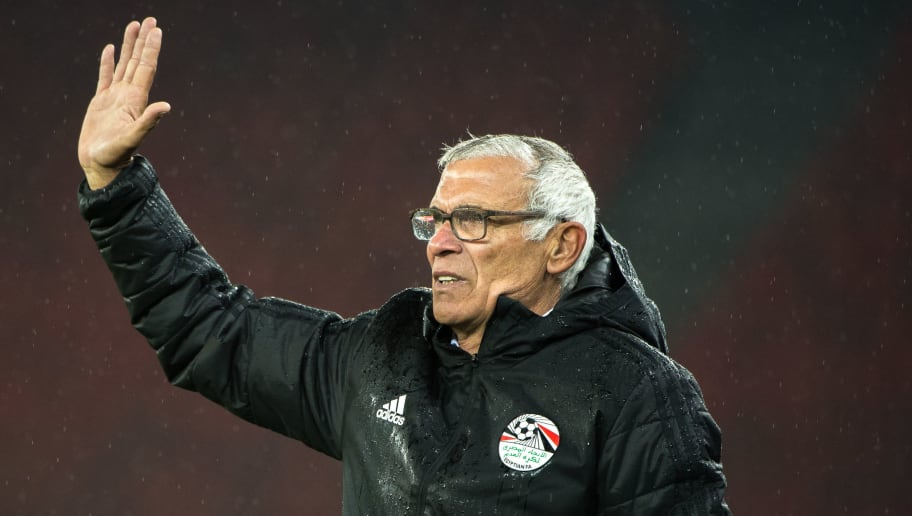 ZURICH, SWITZERLAND - MARCH 27: Head Coach Hector Cuper of Egypt reacts during the International Friendly between Egypt and Greece at the Letzigrund Stadium on March 27, 2018 in Zurich, Switzerland. (Photo by Robert Hradil/Getty Images)