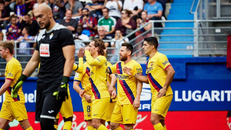 Antoine Griezmann,Lionel Messi,Luis Suarez