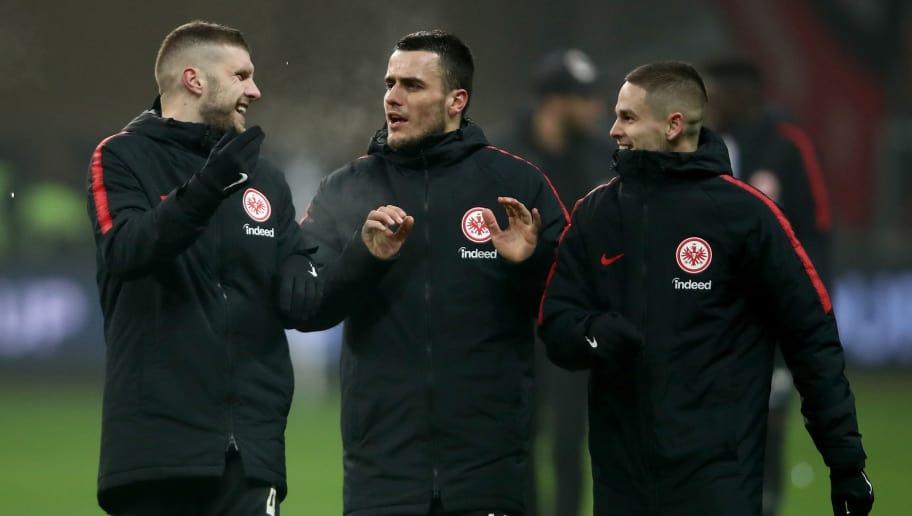 Ante Rebic,Filip Kostic,Mijat Gacinovic
