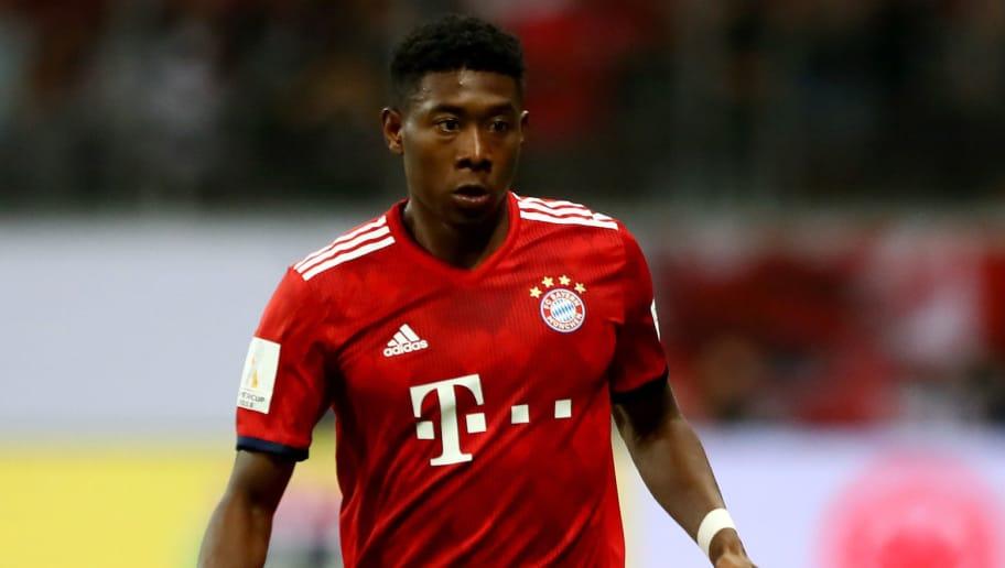 Erleichterung Beim Fc Bayern David Alaba Erleidet Keine Schwere