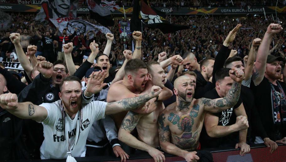 Eintracht Frankfurt v Benfica - UEFA Europa League Quarter Final : Second Leg