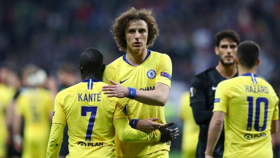 David Luiz,N'golo Kante