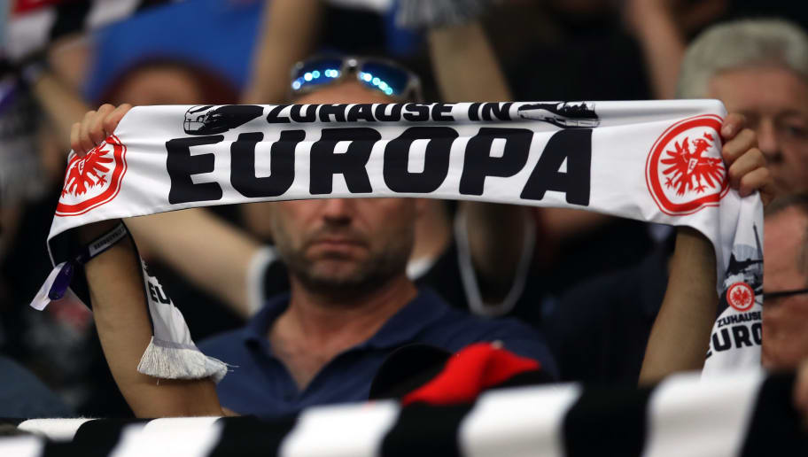 Eintracht Frankfurt v Racing Club de Strasbourg - UEFA Europa League Playoffs