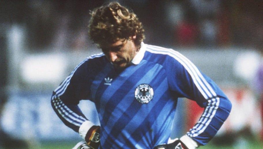 EM 1984/TORWART Harald SCHUMACHER/GER