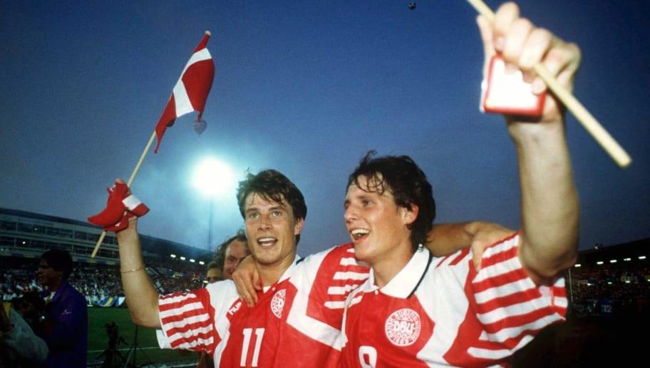 EM 1992 Finale DAENEMARK - DEUTSCHLAND