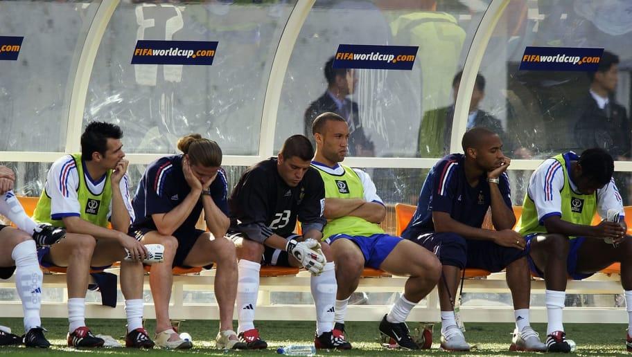 Image result for denmark france world cup 2002