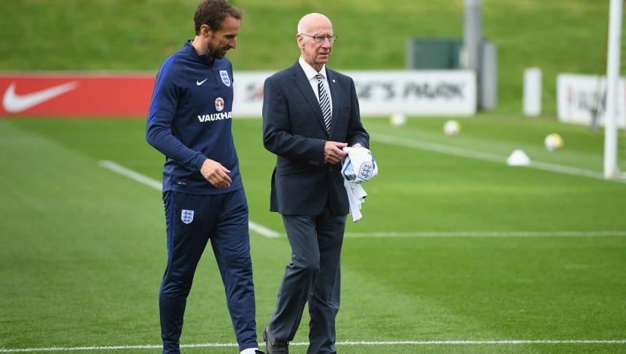 Gareth Southgate,Sir Bobby Charlton