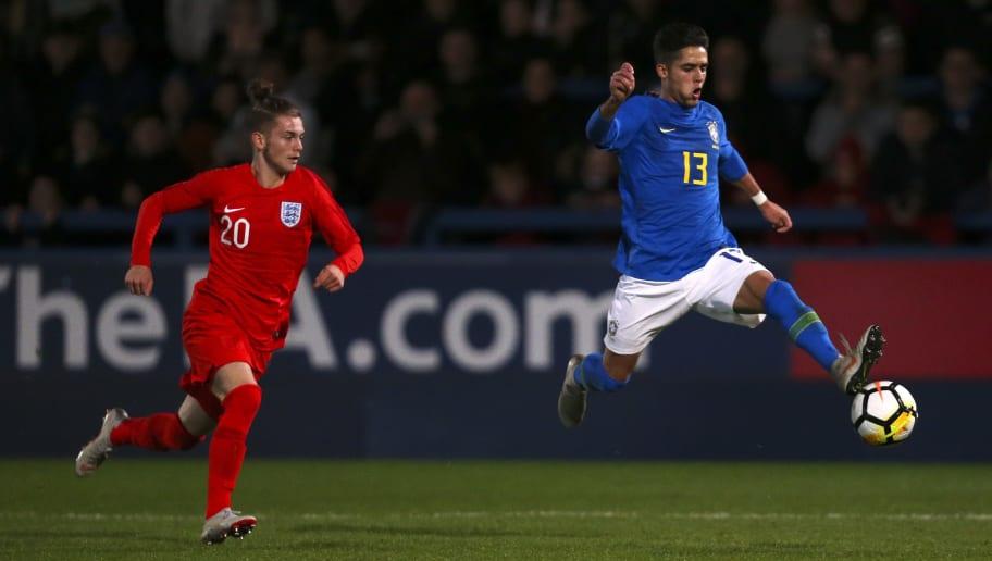 England U17 v Brazil U17: International Friendly