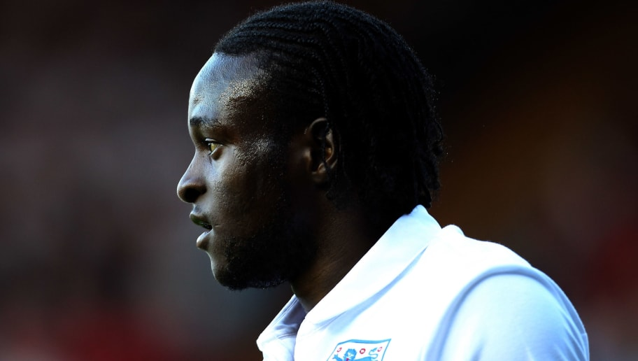 BRISTOL, ENGLAND - AUGUST 10:  Victor Moses of England looks on during the International Friendly between England U21 and Uzbekistan U21 at Ashton Gate on August 10, 2010 in Bristol, England.  (Photo by Bryn Lennon/Getty Images)
