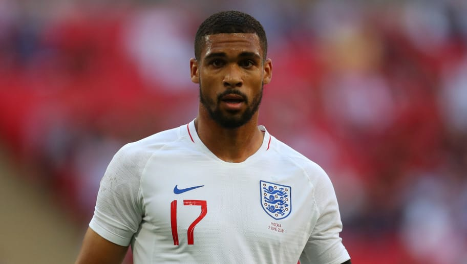 LONDON, ENGLAND - JUNE 02: Ruben Loftus-Cheek during the International Friendly match between England and Nigeria at Wembley Stadium on June 2, 2018 in London, England. (Photo by Catherine Ivill/Getty Images)