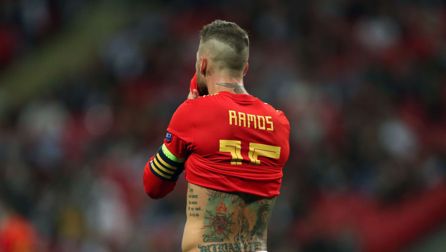 best service 78475 09d18 Real Madrid's Sergio Ramos Reveals 'Death Threats' to His ...