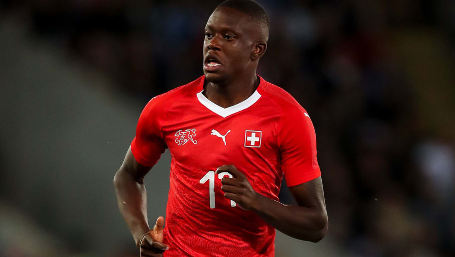 LEICESTER, ENGLAND - SEPTEMBER 11: Denis Zakaria of Switzerland during the International Friendly match between England and Switzerland at The King Power Stadium on September 11, 2018 in Leicester, United Kingdom. (Photo by Robbie Jay Barratt - AMA/Getty Images)