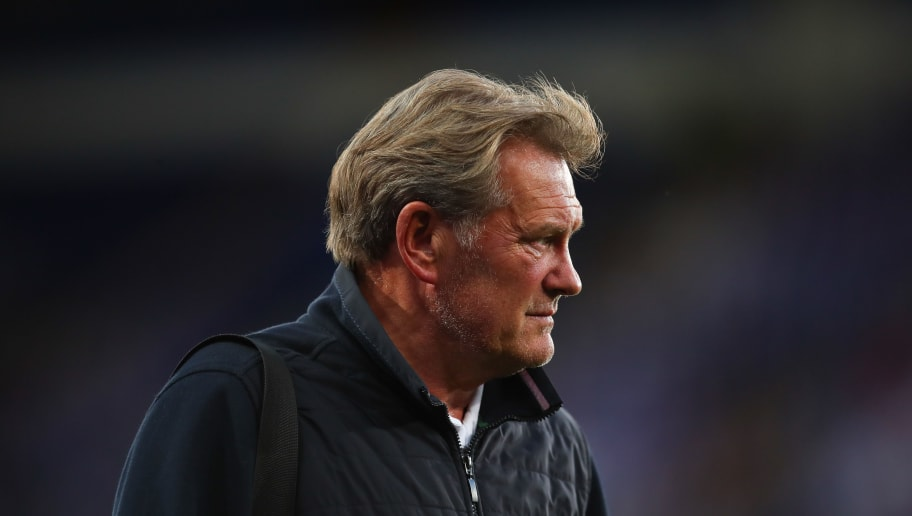 LEICESTER, ENGLAND - SEPTEMBER 11: Glenn Hoddle during the International Friendly match between England and Switzerland at The King Power Stadium on September 11, 2018 in Leicester, United Kingdom. (Photo by Robbie Jay Barratt - AMA/Getty Images)