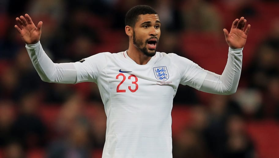 LONDON, ENGLAND - NOVEMBER 15: Ruben Loftus-Cheek of England during the International Friendly match between England and United States at Wembley Stadium on November 15, 2018 in London, United Kingdom. (Photo by Marc Atkins/Getty Images)