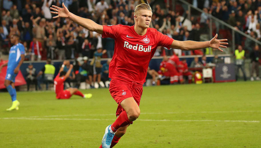 Throwback to What Ole Gunnar Solskjaer Said About Erling Håland Making Manchester United Transfer