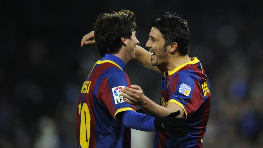 Lionel Messi,David Villa