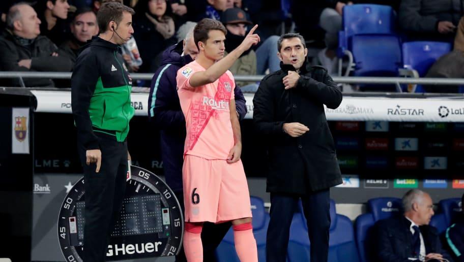 Denis Suarez,Ernesto Valverde