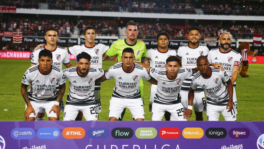 Estudiantes de La Plata v River Plate - Superliga 2019/20