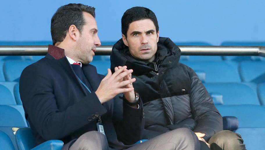 Mikel Arteta Named New Arsenal Coaching Staff Ahead of First Match on Boxing Day