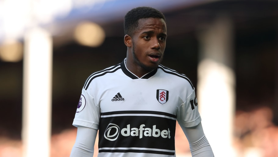 LIVERPOOL, ENGLAND - SEPTEMBER 29: Ryan Sessegnon of Fulham during the Premier League match between Everton FC and Fulham FC at Goodison Park on September 29, 2018 in Liverpool, United Kingdom. (Photo by James Williamson - AMA/Getty Images)