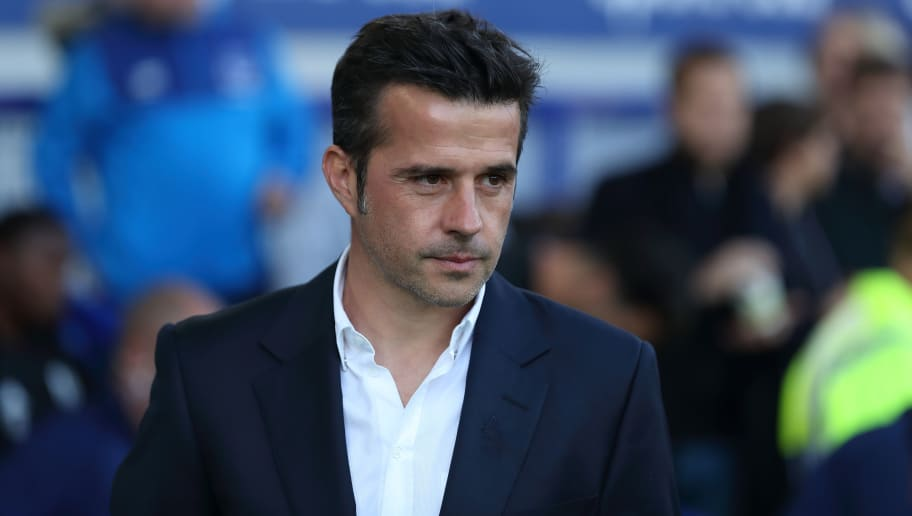 LIVERPOOL, ENGLAND - SEPTEMBER 29: Everton manager \ head coach Marco Silva during the Premier League match between Everton FC and Fulham FC at Goodison Park on September 29, 2018 in Liverpool, United Kingdom. (Photo by James Williamson - AMA/Getty Images)
