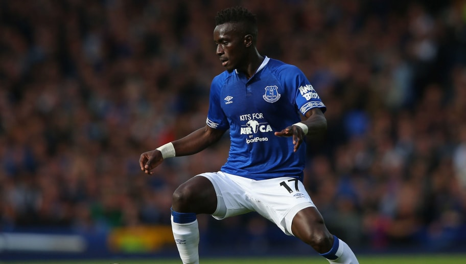 LIVERPOOL, ENGLAND - SEPTEMBER 16:  Idrissa Gueye of Everton during the Premier League match between Everton FC and West Ham United at Goodison Park on September 16, 2018 in Liverpool, United Kingdom.  (Photo by Alex Livesey/Getty Images)