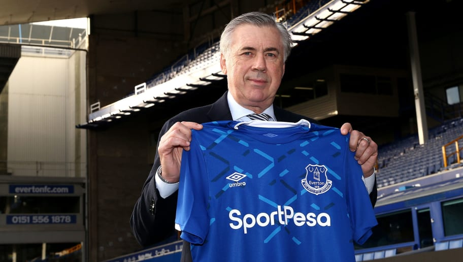 Everton Unveil New Manager Carlo Ancelotti