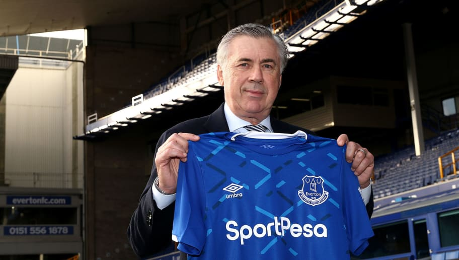 Everton Unveil New Manager Carlo Ancelotti