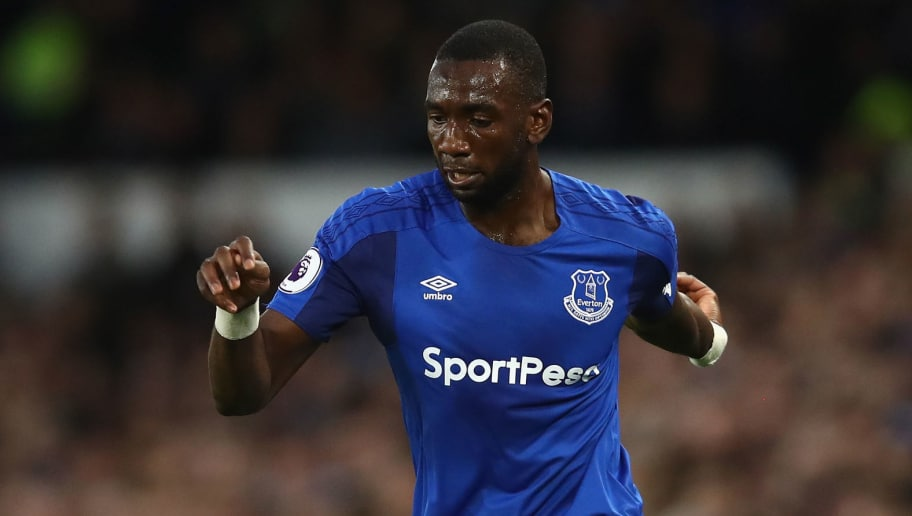 LIVERPOOL, ENGLAND - APRIL 23:  Yannick Bolasie of Everton in action during the Premier League match between Everton and Newcastle United at Goodison Park on April 23, 2018 in Liverpool, England.  (Photo by Clive Brunskill/Getty Images)