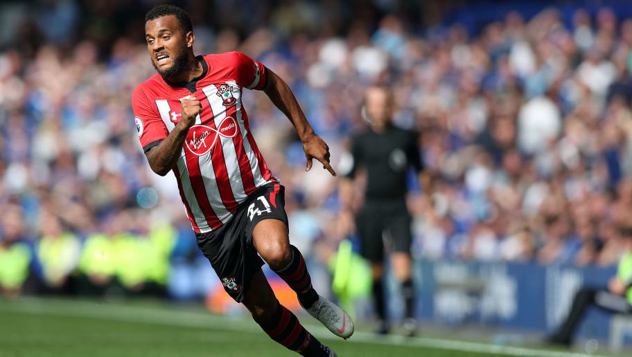 LIVERPOOL, ENGLAND - AUGUST 18: Ryan Bertrand of Southampton during the Premier League match between Everton FC and Southampton FC at Goodison Park on August 18, 2018 in Liverpool, United Kingdom. (Photo by James Williamson - AMA/Getty Images)