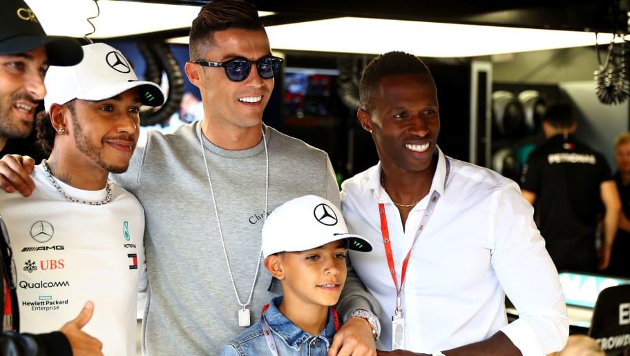 Lewis Hamilton,Cristiano Ronaldo