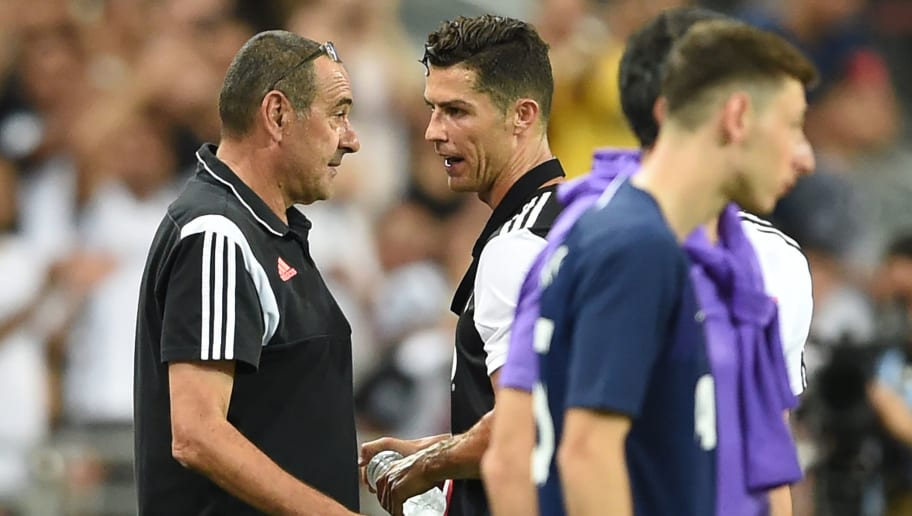 Cristiano Ronaldo Reportedly Annoyed With Maurizio Sarri After Clash of Words During Tottenham Clash