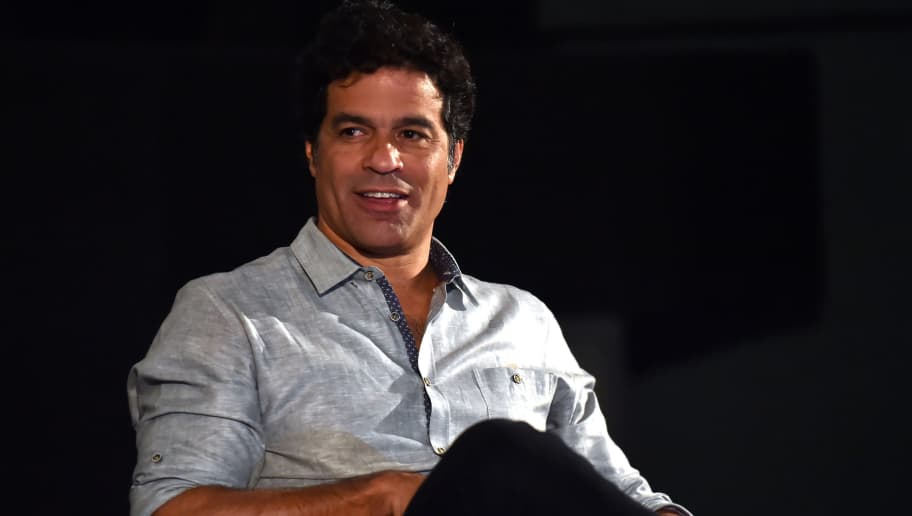 Brazilian former football player Rai smiles during the launching of the book 'Rai Auto Fotobio' in Sao Paulo, Brazil on August 25, 2015. AFP PHOTO / NELSON ALMEIDA        (Photo credit should read NELSON ALMEIDA/AFP/Getty Images)