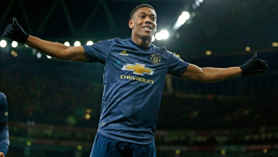size 40 59c9c 9ef62 Anthony Martial Handed #9 Shirt (Again) as Manchester United ...