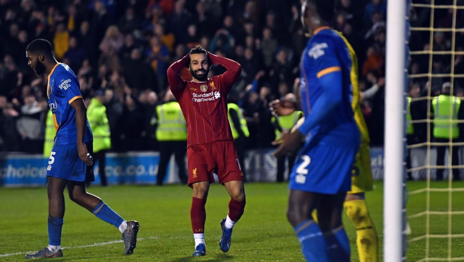 Mo Salah Appears to Pass the Ball to Joel Matip - the Man he Substituted