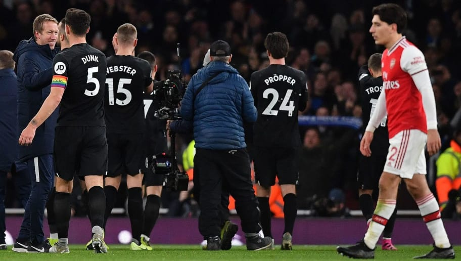 Twitter Reacts as Defeat to Brighton Leaves Arsenal on Worst Winless Run Since 1977