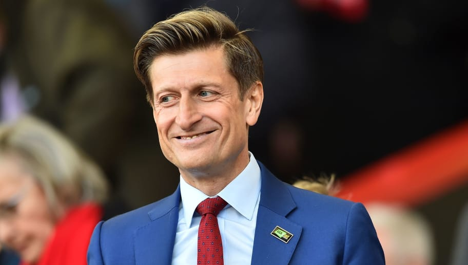 Crystal Palace's English co-chairman Steve Parish is seen in the crowd during the English Premier League football match between Bournemouth and Crystal Palace at the Vitality Stadium in Bournemouth, southern England on April 7, 2018. / AFP PHOTO / Glyn KIRK / RESTRICTED TO EDITORIAL USE. No use with unauthorized audio, video, data, fixture lists, club/league logos or 'live' services. Online in-match use limited to 75 images, no video emulation. No use in betting, games or single club/league/player publications.  /         (Photo credit should read GLYN KIRK/AFP/Getty Images)