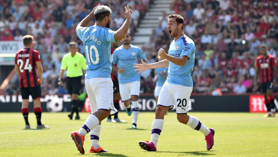 Bournemouth 1-3 Man City: Report, Ratings & Reaction as Aguero Double Sees City Stay Unbeaten